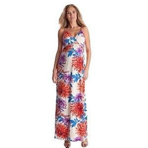Seraphine Jemima Floral Braided Maxi Dress Size S